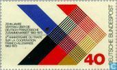 Timbres-poste - Allemagne [DEU] - coopération franco-allemande