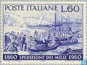 Garibaldis landing in Sicily