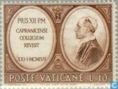 Capranica Seminary 500 years