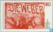 Postage Stamps - Germany [DEU] - Gerhart Hauptmann