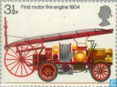 Postage Stamps - Great Britain - Fire Department