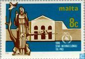 Postzegels - Malta - Int. Jaar van de Vrede