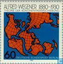 Postzegels - Berlijn - Alfred Wegener,  100 jaar