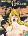 Candice at Sea