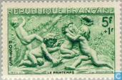 Postage Stamps - France [FRA] - Sculptures