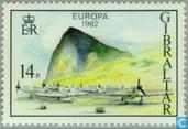 Postzegels - Gibraltar - Europa - Historische gebeurtenissen