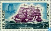 Sailing ship 'Antoinette'