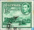 Postzegels - Cyprus - Gebouwen en landschappen