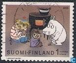 Postzegels - Finland - Moomin Midwinter