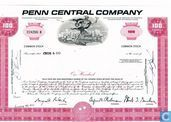 Penn Central Company, Certificate for 100 shares, Common stock, w/o par value
