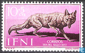 Postzegels - Ifni - Jakhals