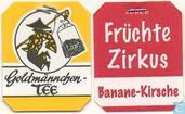 Sachets et étiquettes de thé - Goldmännchen Tee -  1 Früchte Zirkus