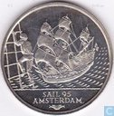 "Penningen / medailles - Lokaal geld - 2 ECU*Sail Amsterdam 1995 ""Batavia"""