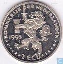 """Penningen / medailles - Lokaal geld - 2 Ecu Sail Amsterdam 1995 """"Sagres"""""""