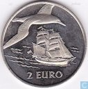 "2 euro Sail Den Helder 1997 ""Brik/Jan van Gent"""