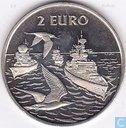 "2 Euro Sail Den Helder 1997 ""Marine/Visdiefjes"""