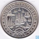 "Penningen / medailles - Lokaal geld - 2 Euro Sail Den Helder 1997 ""Marine/Visdiefjes"""