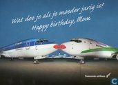 Luchtvaart - KLM - Transavia - Happy Birthday, mom (01)