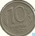 Rusland 10 roebel 1993 (m - magnetisch)