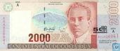 Costa Rica 2000 Colones