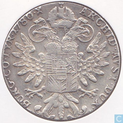 Munzwert Maria Theresia Taler