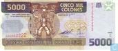 COSTA RICA 5 000 Colones