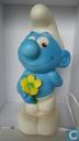 Divers - ETC - Smurf met bloem