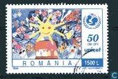 Briefmarken - Rumänien - 50 Jahre UNICEF