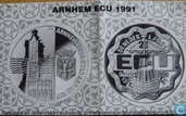 "Penningen / medailles - ECU penningen - Nederland 2½ Ecu 1991 ""Arnhem"""