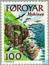 Briefmarken - Färöer - Insel Mykines