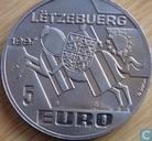 """Luxemburg 5 Euro 1997 """"Michel Lentz"""""""