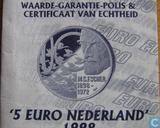 """Penningen / medailles - Fantasie munten - Nederland 5 Euro 1998 """"M.C. Escher"""""""