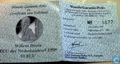"Penningen / medailles - ECU penningen - Nederland 10 ecu 1998 ""Willem Drees"""