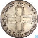Rusland 1 roebel 1797