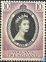 Postzegels - Maleisië - Trengganu - Kroning van Elizabeth II