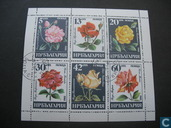 Postzegels - Bulgarije [BGR] - Rozen
