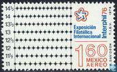 """Stamp exhibition """"Interphil 76"""""""