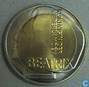 "Penningen / medailles - ECU penningen - Nederland 5 euro-ecu 1996 ""Beatrix"""