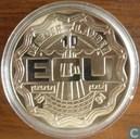 "Penningen / medailles - ECU penningen - Nederland 10 Ecu 1991 ""Erasmus"""