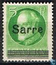 Surimpression sur timbres Bavière