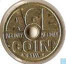 Penningen / medailles - Automaatpenningen - Age coin ''BTVA''