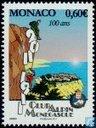 Postzegels - Monaco - 100 jaar Monegaskische Alpine Club