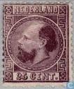 Roi Guillaume III (13½ dentelure)