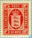 National Wappen, Öre Werte