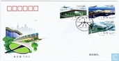 2008-25. Construction of airports. Special stamps