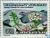 Postzegels - Groenland - Bloemen [II]