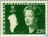 Timbres-poste - Groenland - La Reine Margrethe II