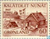 Postzegels - Groenland - Bevrijding 1945