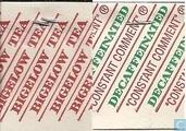 """Sachets et étiquettes de thé - Bigelow - """"Constant Comment""""® Decaffeinated"""