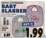 Baby slabber + Disney drinkfles
